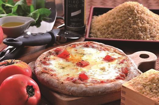 ヘルシー玄米ピザ・マルゲリータ3枚セット